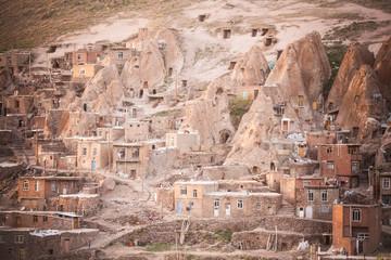 Houses in Kandovan, Iran.