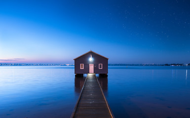 The Blue Boat House