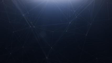 Plexus technology abstract line background