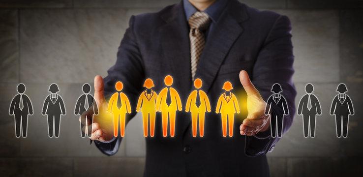 Director Building A Mixed Gender Management Team