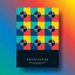 Abstract Modern Geometric Shapes Cover Design layout for banners, wallpaper, flyers, invitation, posters, brochure, voucher discount - Vector illustration template