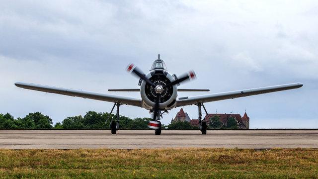 Kampfflugzeug Warbird