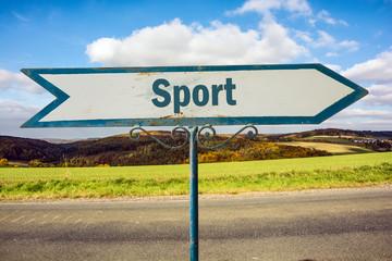 Schild 251 - Sport