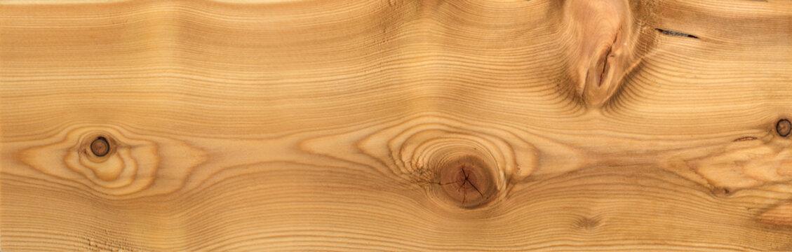Larch wood plank