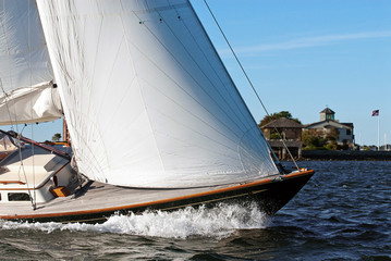 Adventure sailing in Newport, Rhode Island. The sailing capital of the world.