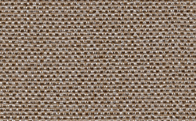 Closeup brown color fabric texture. Strip line brown fabric pattern design or upholstery abstract background. Hi resolution image.