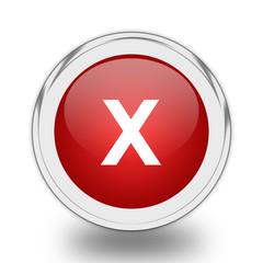Cancel icon.