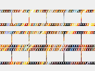 Color photographic films