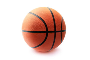 Basketball ball isolated in white background