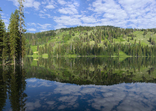 Goose Lake near McCall Idaho