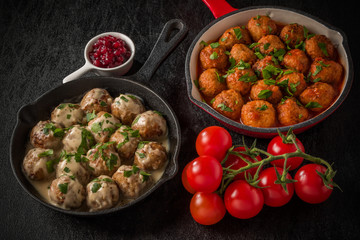 北欧風ミートボール  Swedish dish meatball