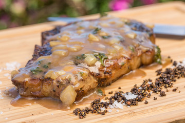 Boneless Steak Diane