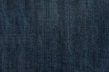 Blue denim jeans texture, background.