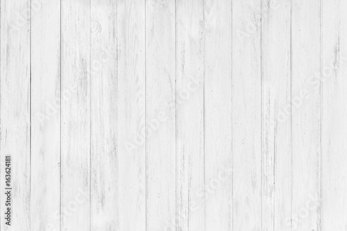Vintage Surface White Wood Table And Rustic Grain Texture Background Close Up Of Dark