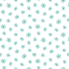 Wall Mural - Floral seamless pattern. Vector illustration.