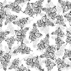 Graphics designs, Elegant ornamental pattern