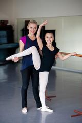 Teaching positions in ballet school.