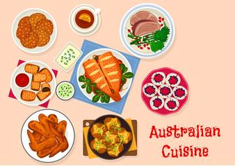 Bilder und videos suchen bis vector tradition sm for Australian traditional cuisine