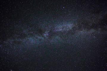 The stellar sky in mountains in the neighborhood of Sochi. Milky Way.