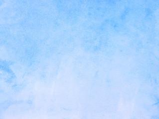 blue empty paper