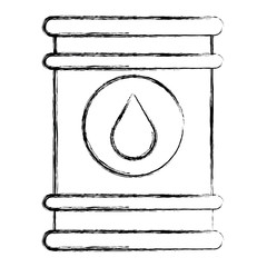 oil barrel isolated icon vector illustration design