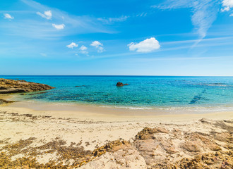 Santa Giusta beach in springtime