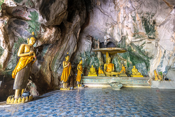 Tample in the natural cave