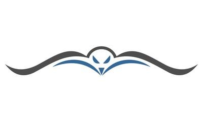 Eagle flying logo