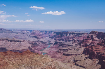 Harmony in nature. The serene expanse of Grand Canyon, Arizona, USA