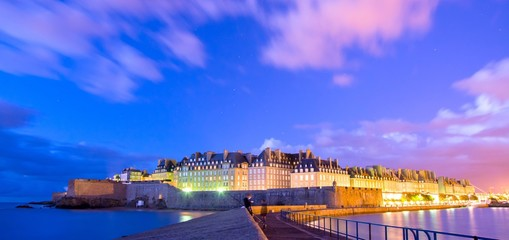 Saint-Malo en Bretagne, France