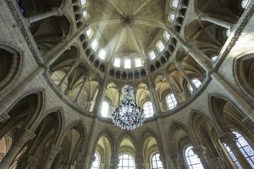 Poster Monument Cathedral Saint Gervais Saint Protais in Soissons, France