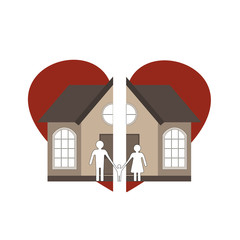 Broken heart and division of property in divorce