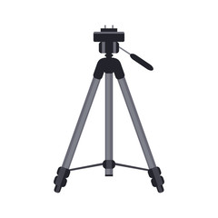 Tripod vector icon. Isolated illustration