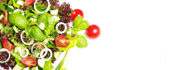 Bunter, gemischter Salat