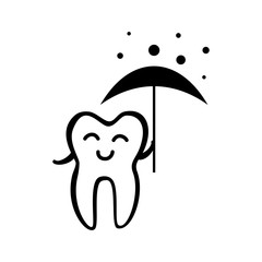 Happy Tooth Icon
