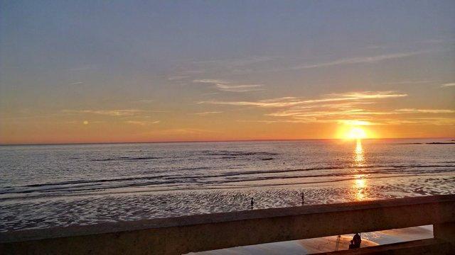 Sunset at La Parée, Bretignolles-sur-mer