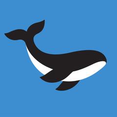 Orca killer whale icon