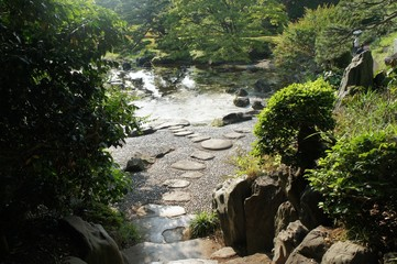 Parc japonais à Tokyo