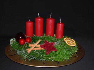 Advent, kerzen, weihnachten