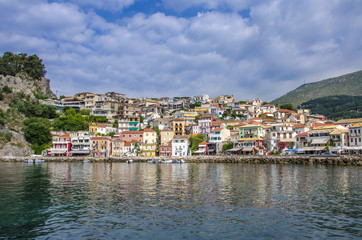 Parga city - Greece  - Ionian Sea