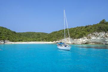 Summer scene - Antipaxos island - Ionian Sea - Greece