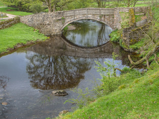 Stone bridge reflection, Cumbria, England