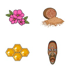 travel, beekeeping and other web icon in cartoon style.cooking, museum icons in set collection.