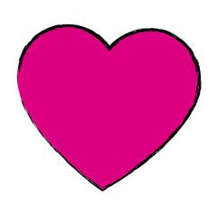 pink love heart romance valentine beauty