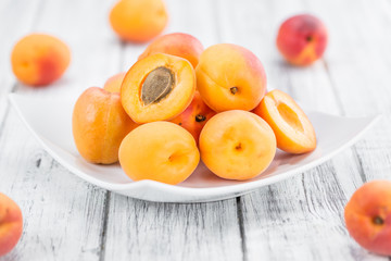 Portion of Apricots