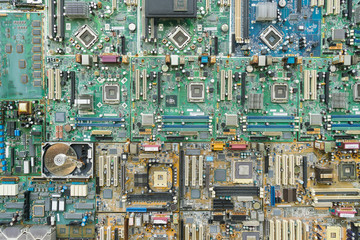 Background of Electronic circuit board