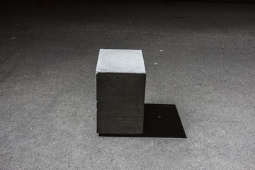 Concrete Cube Block