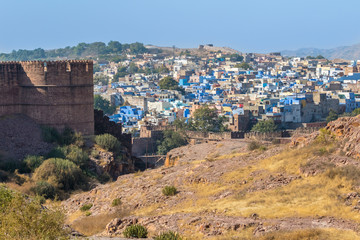 Blue City and Mehrangarh Fort