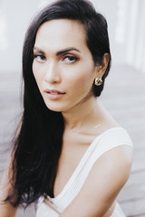 portrait of beautiful transgender woman