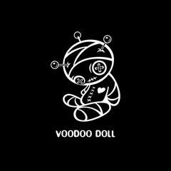 Hand-made voodoo doll